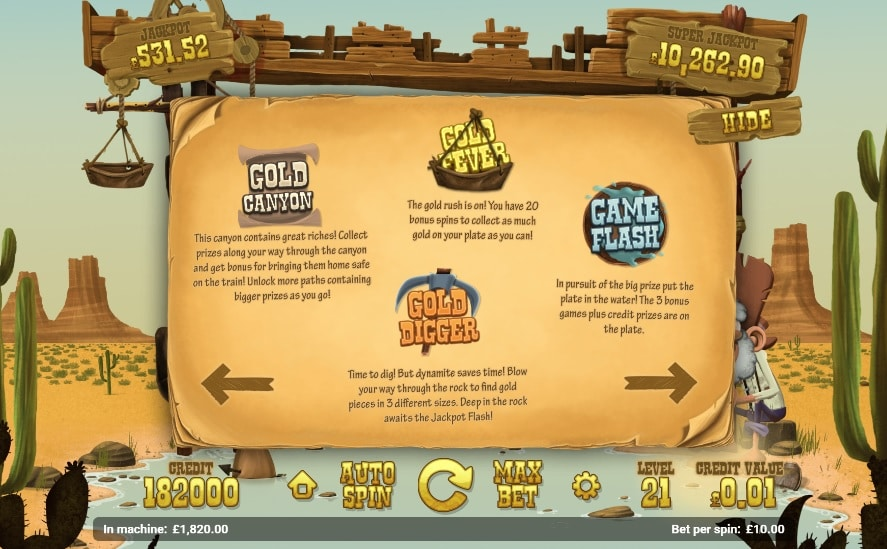 gold rush features