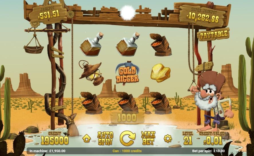 Gold Rush Gameplay