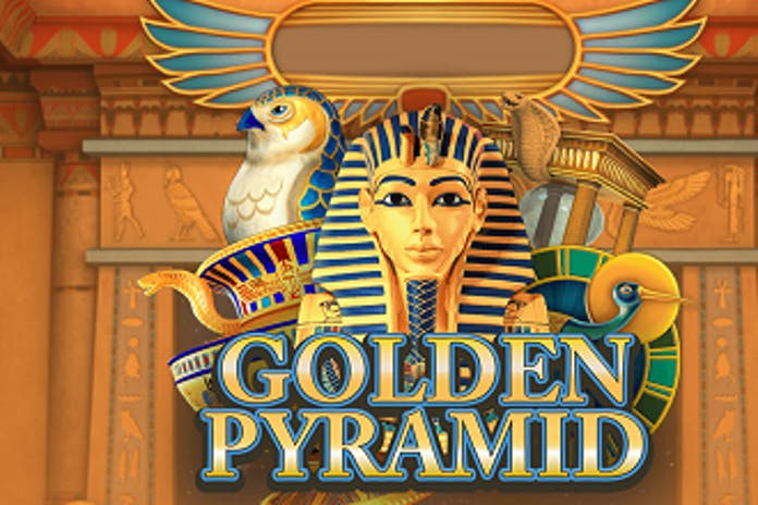 golden pyramid slot banner