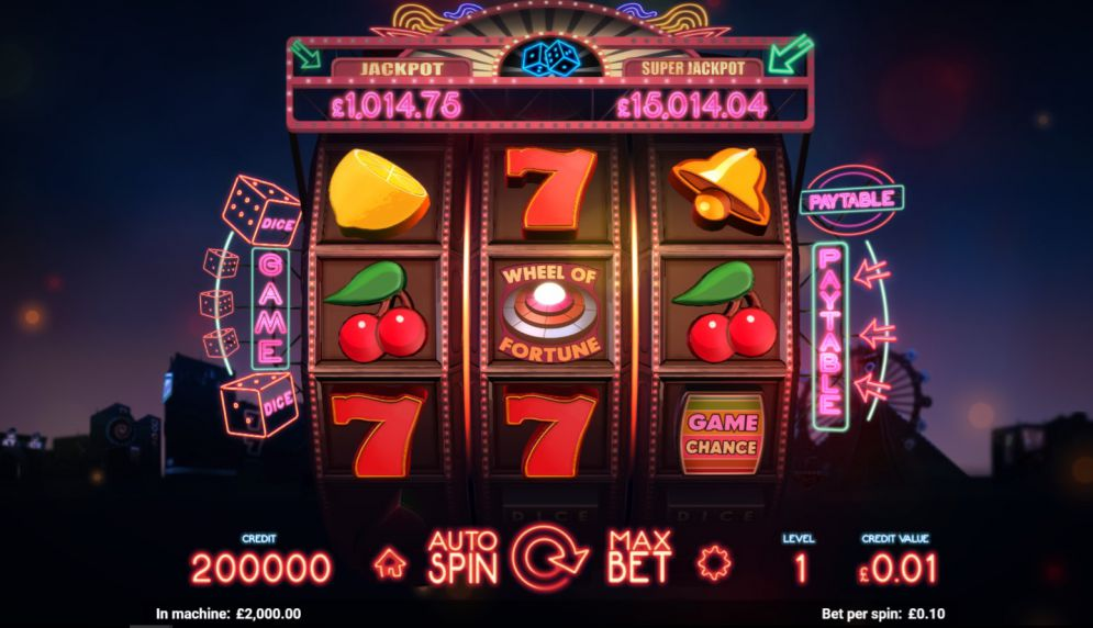 lucky dice slot magnet gaming gameplay