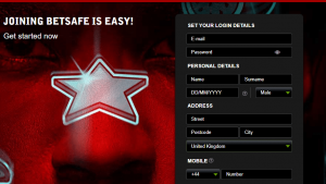 Betsafe Casino Sign Up