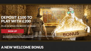 Guts Casino Welcome Bonus