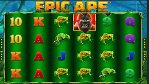 Ladbrokes Epic Ape Gameplay