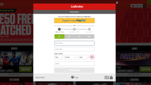 Ladbrokes Sign-Up