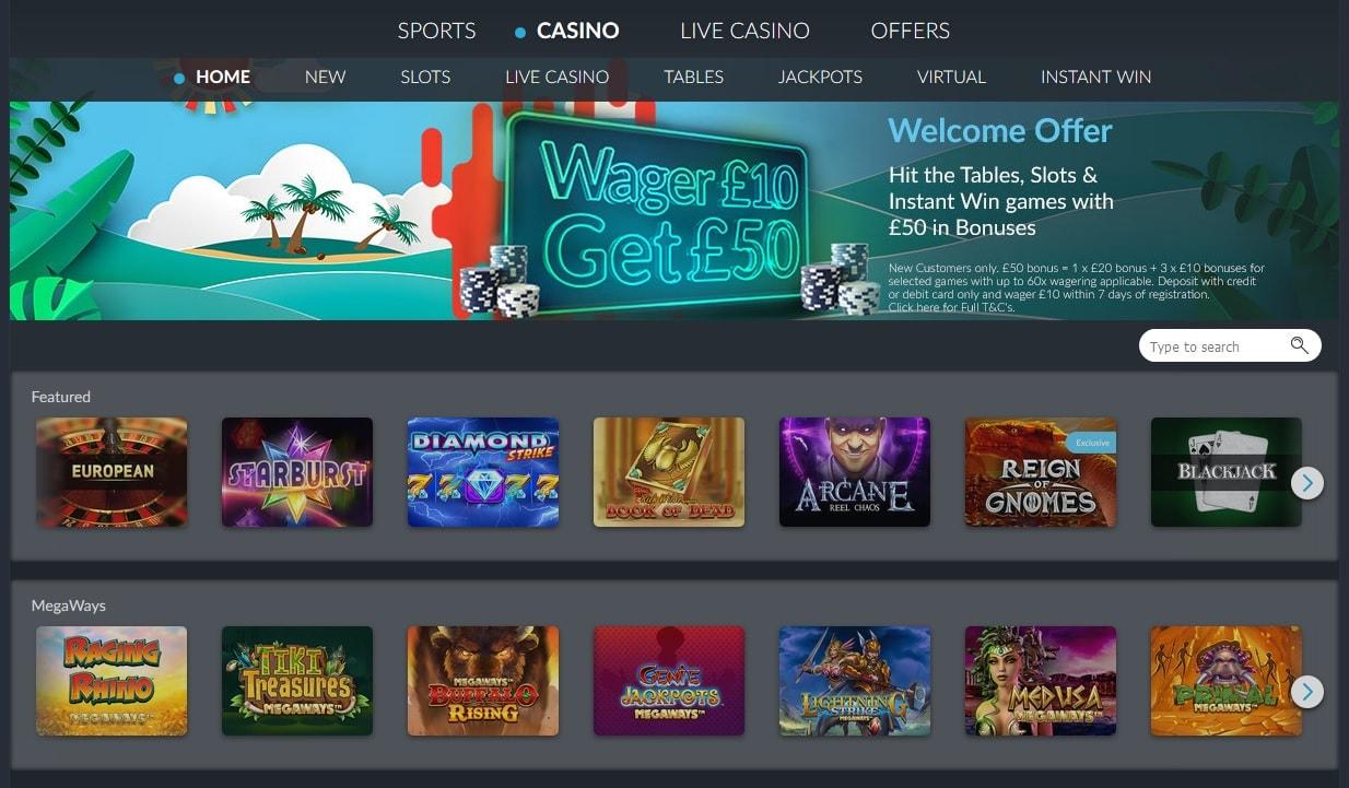 betvictor casino lobby