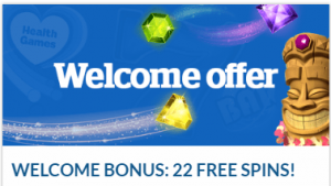 Health Lottery Welcome Bonus