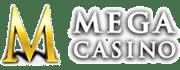 Mega Casino Review Logo Linear