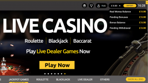 Mega Casino Drop Down 1