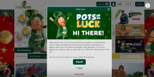 pots of luck sign up