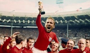 Harry Kane Lifting Trophy
