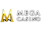 Mega Casino Review Logo Linear
