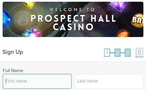 prospect hall casino sign up