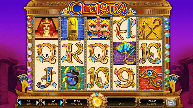Slotsmillion Cleopatra Gameplay