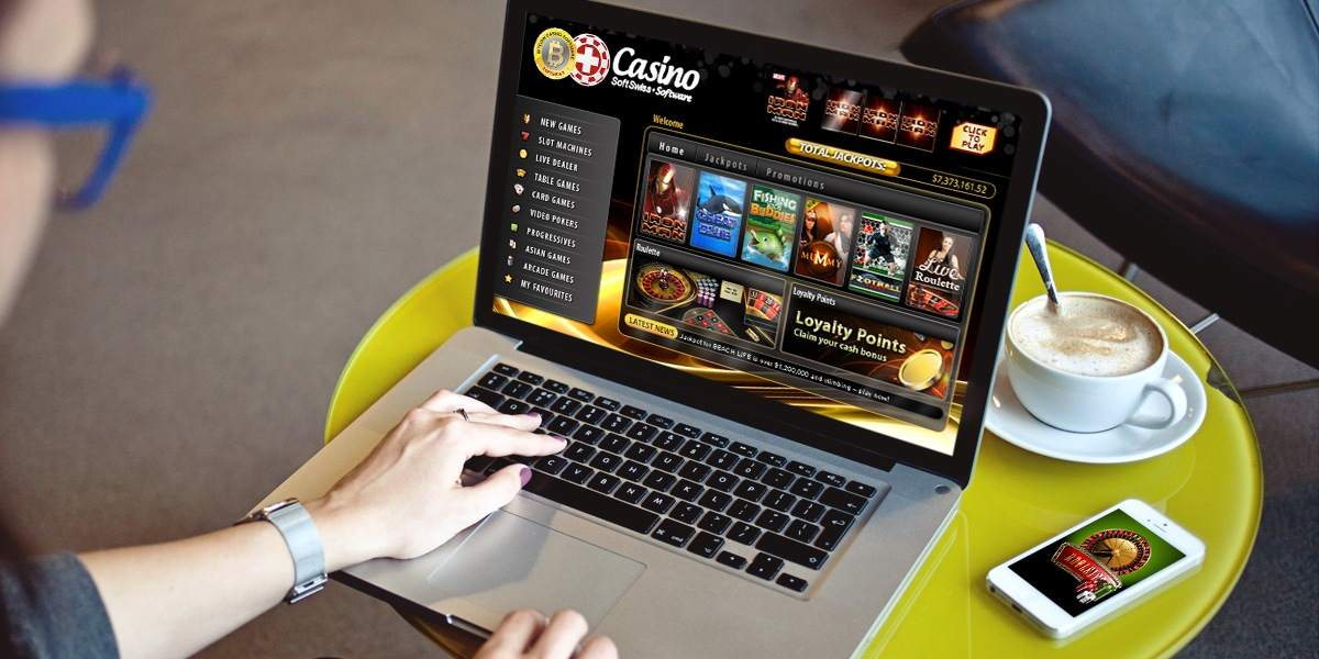 online casino player