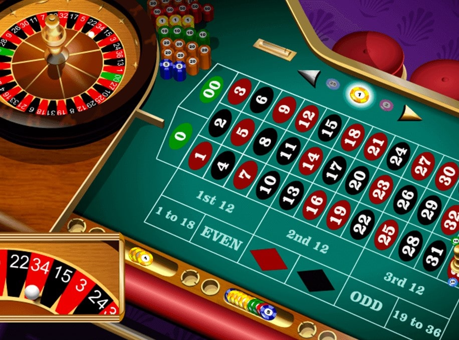 Online Roulette Table And Wheel
