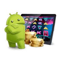 Android Logo With Slot Machine