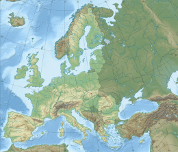 geographic map of europe