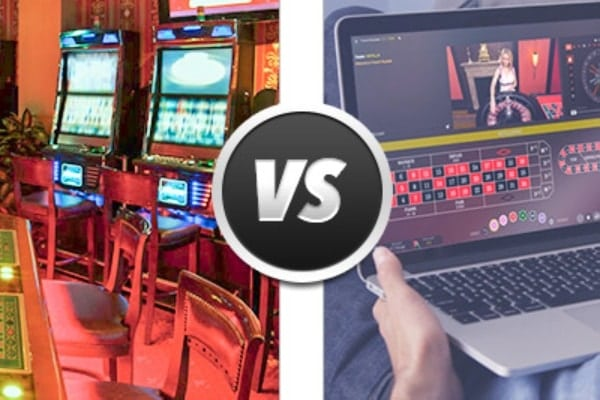 online slots vs land based slots