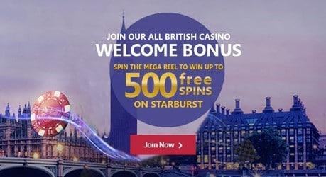 Spin Hill Casino Welcome Bonus