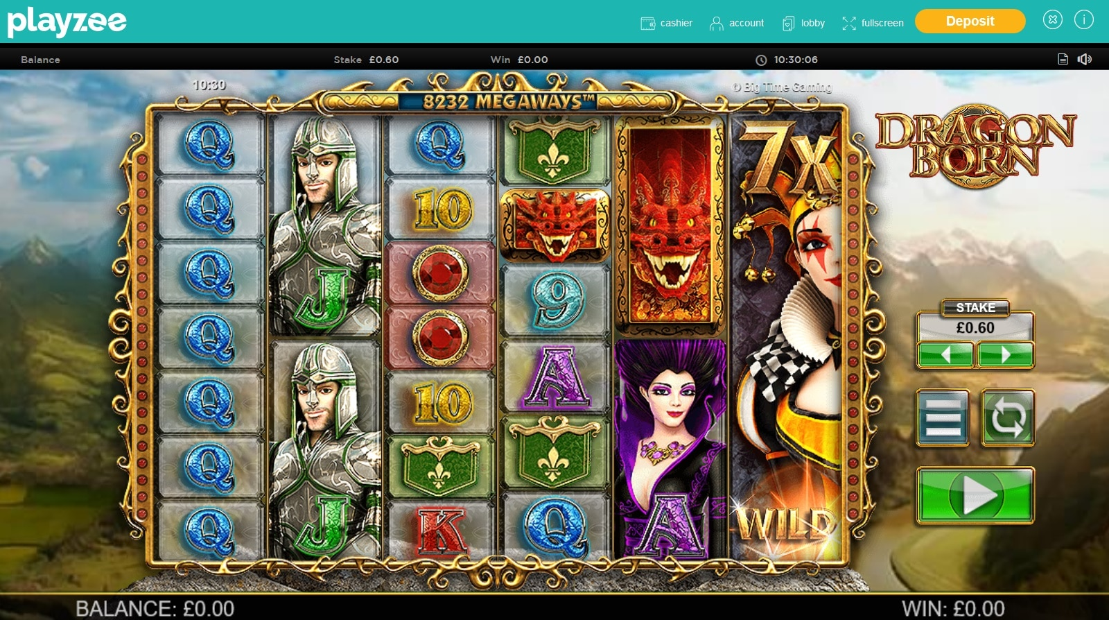 playzee casino gameplay