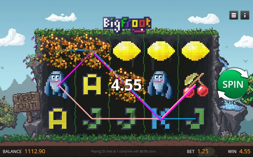 big froot slot gameplay