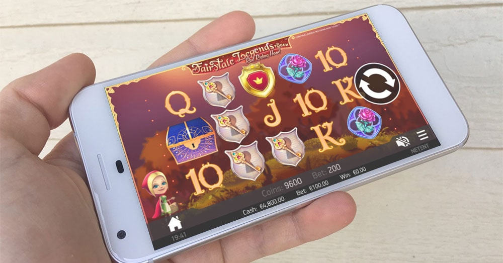 fairytale legends red riding hood slot gameplay