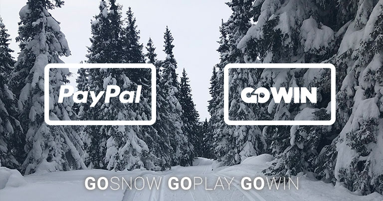 PayPal and GoWin logos