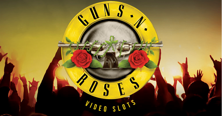 Guns and Roses NetEnt Slot Banner