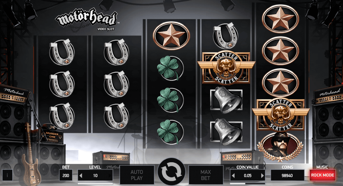 Motorhead Slot by NetEnt - Free Spins