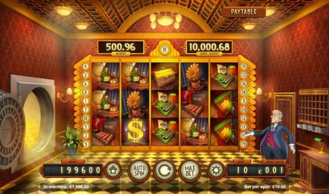 Bank Walt Slot Gameplay