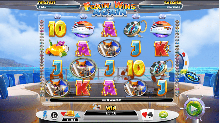 Foxin' Wins Again Slot Gameplay