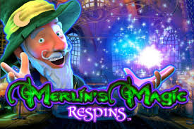 Merlin's Magic Respins Slot Advert