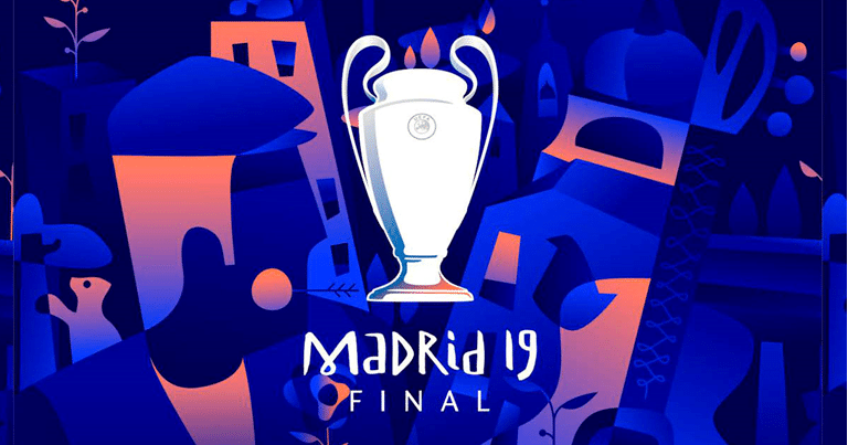 Champions League Final Banner Madrid 2019