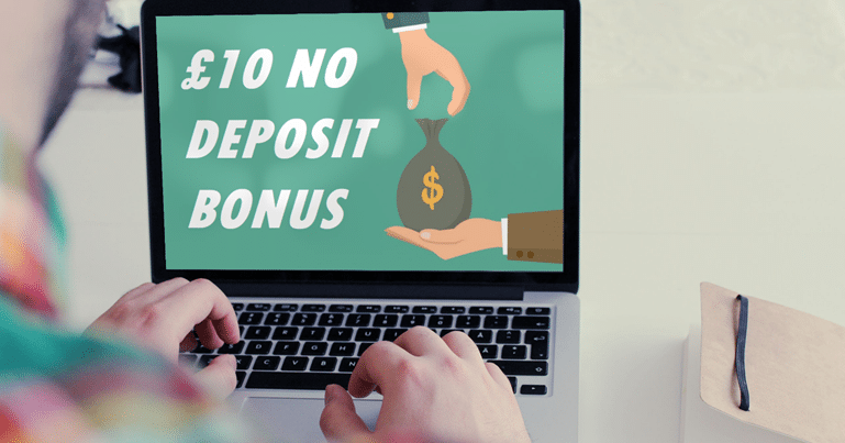 £10 No Deposit Bonus Offer on Laptop